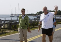 Challenge Walk MS, harbor