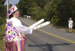 Challenge Walk MS 2007, clown